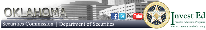 Oklahoma Department of Securities logo