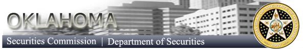 Oklahoma Department of Securities logo